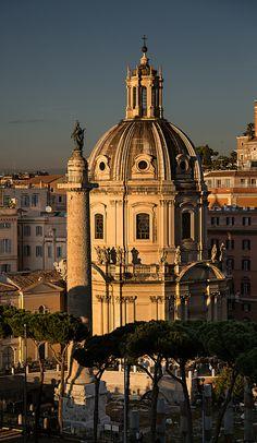 Santa Maria di Loreto | Sitting in cafe enjoying a beer and … | Flickr