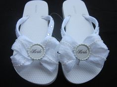 01e22b1b245d I ordered these adorable flip flops for my special day