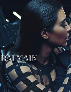 Kim Kardashian et Kanye West ne s'arrêtent jamais. http://www.elle.fr/Mode/Les-news-mode/Autres-news/Exclu-Kim-Kardashian-et-Kanye-West-egeries-de-la-nouvelle-campagne-Balmain-2871584