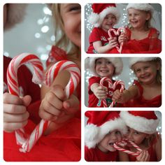 What a cute Christmas card photo idea! Perfect for twins.