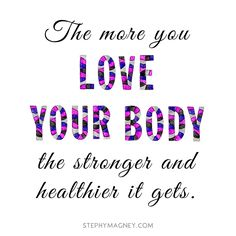Love your Body!