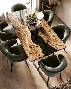8 Cheap Things to Maximize a Small Bedroom. Dream Home Design, Home Interior Design, Interior Decorating, House Design, Modern Interior, Resin Furniture, Home Furniture, Furniture Design, Epoxy Wood Table
