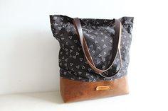 Leather Canvas Tote,Messenger bag,Cow Leather Men's leather bag canvas Bag,cross-body bag,Traveling Bag,Laptop bag,school bag