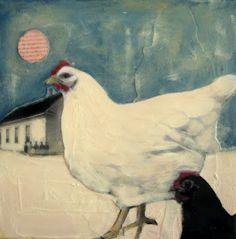 My Ephemeral Imagination..chicken art :-)