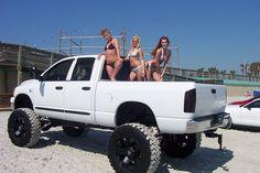 chicks dig big lifted dodge ram cummin diesels
