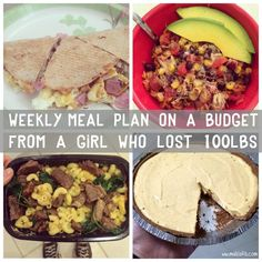 Meal Plan healthy and balanced eating perfect for those who track calories or macros Aldi Meal Plan, Diet Meal Plans, Meal Prep, Paleo Recipes, Gourmet Recipes, Yummy Recipes, Cooking Recipes, Most Effective Diet, Paleo Diet Plan
