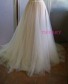 image 0 Wedding Skirt, Tulle Wedding, Bridal, Trending Outfits, Skirts, Etsy, Image, Clothes, Fashion