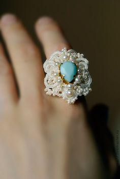 "Rings handmade. Fair Masters - handmade ring ""Romantic"". Ankars .. Handmade."