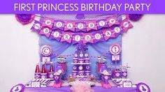 First princess birthday party