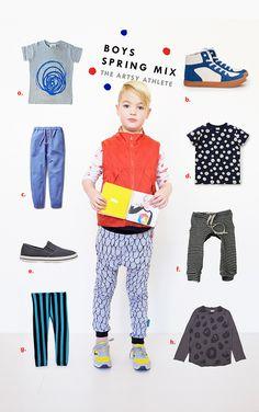 Kid Style: The Artsy Athlete #boysfashion