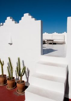 bright white building in dar nour, morocco.