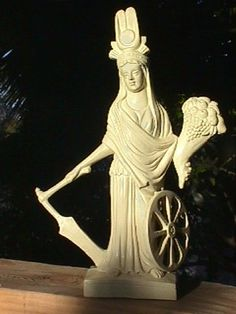 Fortuna, the Roman goddess of luck Fortuna was the daughter of Jupiter and the goddess of good fortune. Her Greek counterpart was called Tyche but she was more important in Roman culture than in Greek culture.