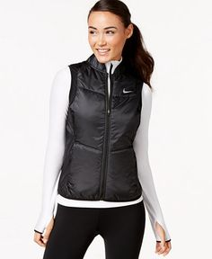 e782db17 Nike Polyfill Running Vest & Reviews - Jackets & Blazers - Women - Macy's