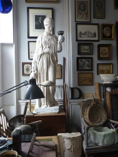 You can buy his casts from Pentreath and Hall, and see their 'Hone Museum' of casts filling the back wall of the Rugby Street shop.