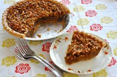 """Faux Pecan Pie  This is a fun recipe to feed people. At first glance, it looks like a pecan pie and folks usually don't take a second glance before digging in for a bite and telling you how good it is.  """"That is the BEST pecan pie I've ever tasted!"""". Then I got to tell him it didn't have any pecans in it…"""