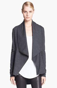 Helmut Lang 'Sonar' Shawl Collar Wool Jacket