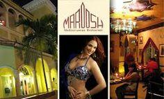 $50 Gift Certificate for Maroosh Mediterranean Restaurant.