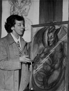 A Documentary for the Witch of Kings Cross [Rosaleen Norton], Australia's Persecuted Occult Artist Rosaleen Norton, Origin Of Christianity, Aleister Crowley, Occult Art, Australian Artists, Coven, Dark Art, Wicca, Witchcraft