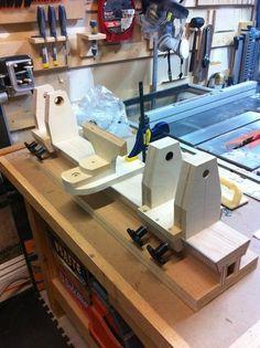 Home-Made Wood-Lathe
