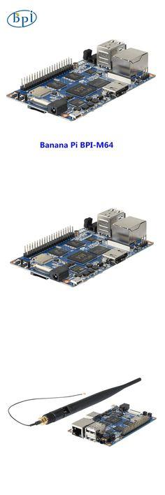 64-bit Quad-core mini single board computer BPI-M64 Banana Pi Board