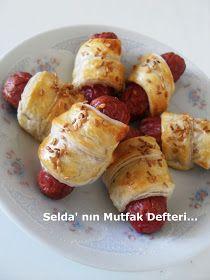 Selda' nın Mutfak Defteri...: Sosisli Milföy Rulo