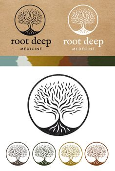 Logo created for Root Deep #rootLogo ॐ Shakti Sway ॐ