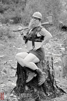 'Dudeoir.' Because bearded lumberjacks want to feel sexy too.