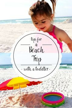 Tips for a Beach Trip with a Toddler