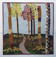 forest path #quilt