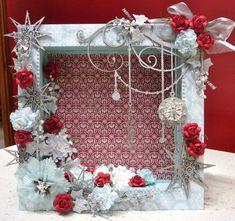 Christmas+Shadow+Box - Scrapbook.com