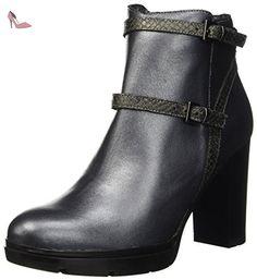 Manas  162m4202pliq, bottine désert femme - Noir - Noir/anthracite, 37 #Women EU - Chaussures manas (*Partner-Link)