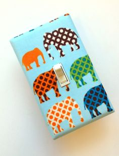 Elephant Light Switch Plate Cover #SocialCircus