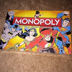 Latest #wonderwoman auction win is this brand #new #Monopoly game from the #UK!!