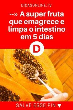 Limpar o intestino | --» A super fruta que emagrece e limpa o intestino em 5 dias | Já te disseram que mamão é muito bom para a saúde? Mas isso NÃO contaram a você!
