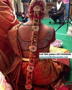 Find us at www.tamilbridesgu to book our artists. Asian Bridal Wear, Indian Bridal Makeup, Bridal Hair, Wedding Hair, Kerala Bride, Hindu Bride, South Indian Bride Hairstyle, Bride Indian, Indian Costumes
