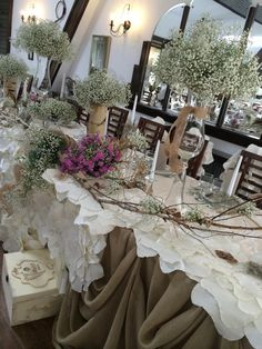 wedding table decorations gypsophylia wedding gypsophila decrations
