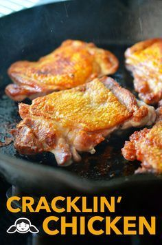 Cracklin' Chicken's one of my favorite dishes, too. These crispy-on-the-outside, tender-and-juicy-on-the-inside boneless chicken thighs are ...