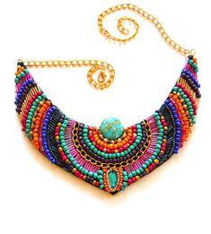 Beautiful embroidered jewelry by Anita Nestorovska | Beads Magic