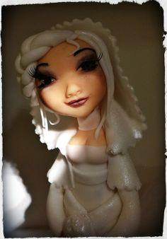 Lady snow Cake by Zuccherina