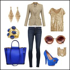 """""""Shiny"""" by karen-amstein on Polyvore"""