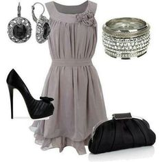 formal dress outfit