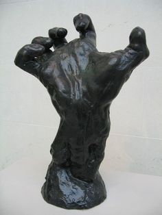 The Mighty Hand, Auguste Rodin Auguste Rodin, Pierre Auguste Renoir, Modern Sculpture, Sculpture Art, Metal Sculptures, Abstract Sculpture, Bronze Sculpture, French Sculptor, Pottery Sculpture