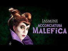 Fare le corna di Malefica - Maleficent | Come acconciarsi per Halloween | Le Acconciature di Jasmine - YouTube
