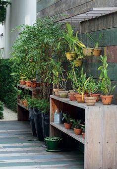 7 cantinhos inspiradores para amantes da jardinagem e orquídeas