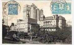 1933 - Postal do Vale do Anhangabaú.