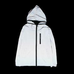 >> Click to Buy << 2017 Tide brand Men reflective jacket Casual hiphop skateboard windbreaker Fashion Spring hooded Unisex Collage coat 052011 #Affiliate