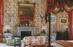 Alnwick Castle. The Duke and Duchesses bedroom