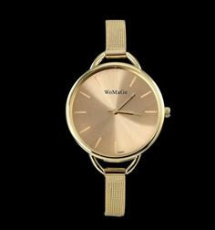 8e8bb462df5 Luxusní dámské hodinky zlaté barvy Na tento produkt se vztahuje nejen  zajímavá sleva