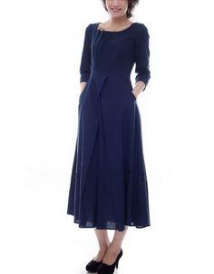 Flax Linen Dress.