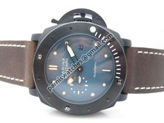 PARNIS 47mm PVD Marina Militare Blue Dial Green Nu - 47mm Marina Militare - Parnis watch station